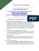 Lesson 2 HTML
