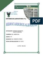 Informe Hid Aromaticos y Pre Informe