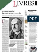 Supplément Le Monde des livres 2012.12.07