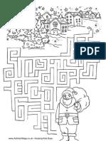 Santa Delivery Maze