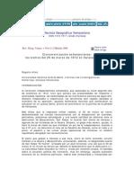 Versión internet del artículo Cronometrización extemporánea