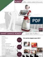 ODM-Technologies - Furo, votre robot d'accueil