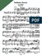 Andante Favori in F, WoO 57