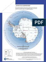 Antarctica Overview Map