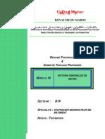 M16-Notion générale de métré-BTP-TDB
