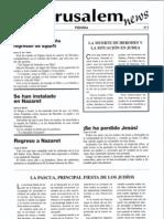 3 Jerusalem News periódico