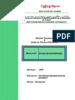 M20-stage en entreprise-BTP-TDB
