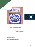 Paya Frank Introduccion  Historia del Judaismo Español