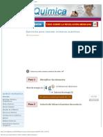 Ejercicios para calcular números cuánticos _ Quimica _ Quimica Inorganica