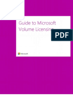 Microsoft Volume Licensing Reference Guide