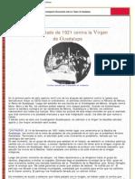 LuxDomini-Atentado de 1921 Contra La Virgen de Guadalupe