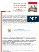 LuxDomini-Las Informaciones de 1666