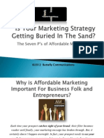 Is Your Marketing Strategy Getting Buried in The Sand?