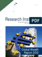 Credit Suisse Global Wealth Report October 2012