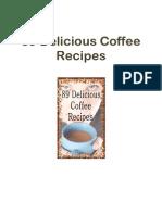 89 Delicious Coffee Recipes