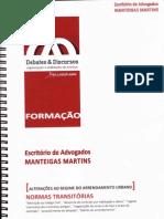 ARRENDAMENTO URBANO 2012 - DR. MANTEIGAS MARTINS