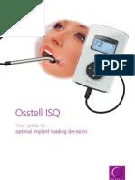 Osstell ISQ Brochure