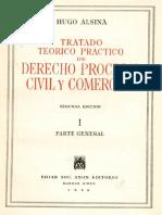 32355334 Derecho Procesal Civil y Comercial Tomo i Alsina Hugo