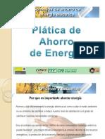 Ahorro de Energia Platica