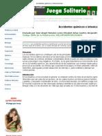 Accidentes Quimicos e Intoxicaciones Masivas - RevistaCiencias