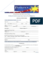 USPGG Essay Contest Official Entry Form