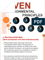 7 Environmental Principles
