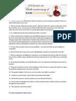 150 Quotes Swami Vivekananda Indies Services