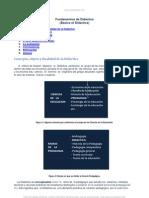 Fundamentos de Didactica