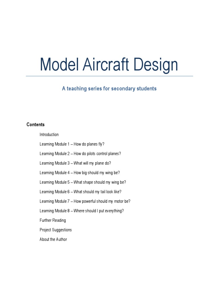 Jon dansie model aircraft design empennage lift force fandeluxe Choice Image