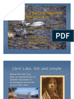 The Ecology of the Clear Lake Hitch (