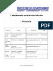 calendario campeonato