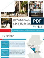 Downtown School Feasibility Study Presentation