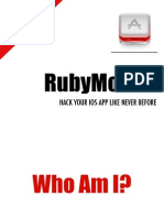 RubyMotion Release Version
