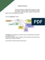 Programme Planning