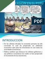 Economia La Inversion en El Peru