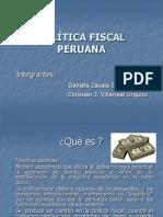 economia Políticia fiscal peruana
