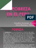 Economia Pobreza en El Peru