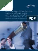 Understanding the Public Relations Industry in India