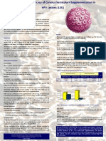 Evaluation of the Efficacy of Coriolus Versicolor Supplementation in HPV Lesions (LSIL)