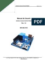 Arduino Para Control de Acceso