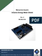 Arduino Control y Monitoreo de Energia Electrica