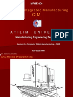 Computer Aided Manufacturing-II