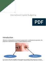 international capilat budgeting