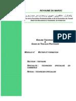 M01 Metier Et Formation TER-TSC