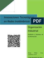 Innovaciones tecnológicas en redes inalámbricas