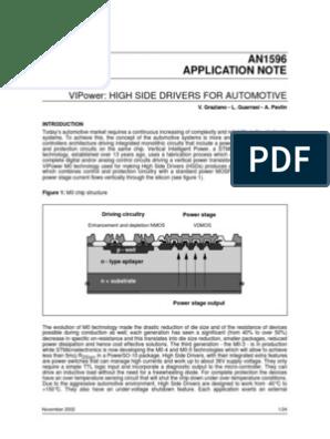 STMicroelectronics VN920-E Motor Driver IC PENTAWATT 36 V 30A 5-Pin
