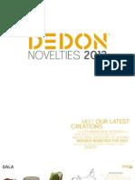 FEI Dedon Novelties 2013