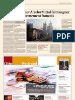 Le dossier ArcelorMittal fait tanguer le gouvernement français