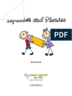 Alphabet and Phonics Work Book