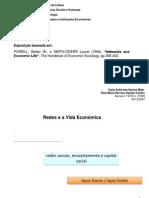 Networks and Economic Life - Eu e Carla